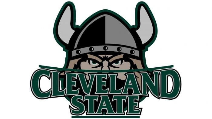 Cleveland State Vikings Logo 2006-Present