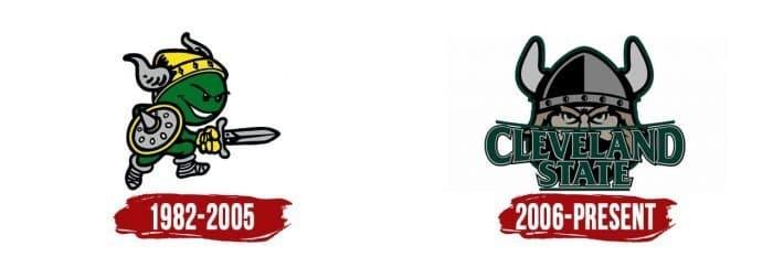 Cleveland State Vikings Logo History
