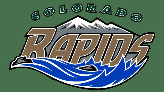 Colorado Rapids Logo 1996-1999