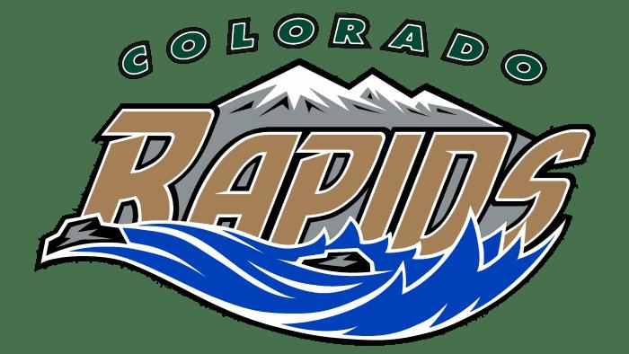 Colorado Rapids Logo 2000-2006