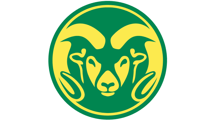 Colorado State Rams Logo 1982-1992