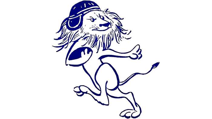 Columbia Lions Logo 1936-1956