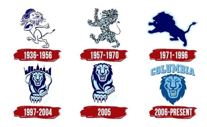 Columbia Lions Logo History