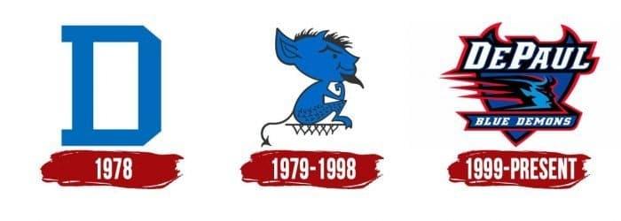 DePaul Blue Demons Logo History