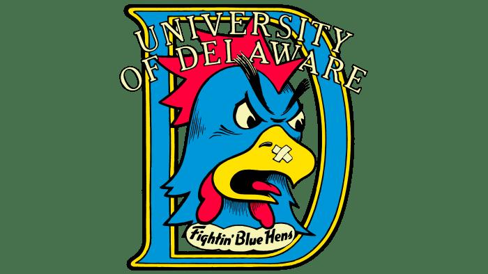 Delaware Blue Hens Logo 1987-1998