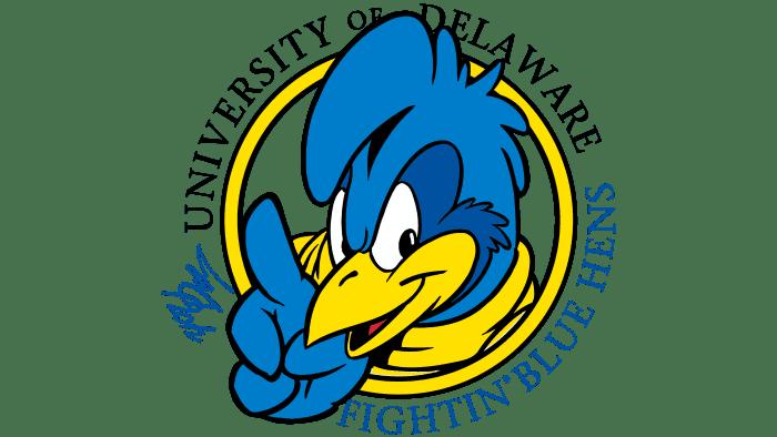 Delaware Blue Hens Logo 1999-2008