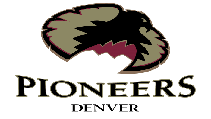 Denver Pioneers Logo 1999-2006