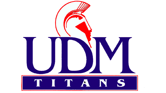 Detroit Titans Logo 1991-2007