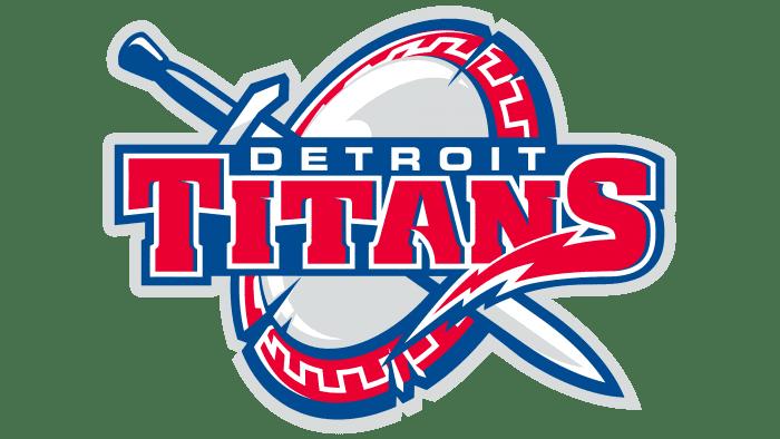 Detroit Titans Logo 2008-2015