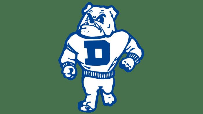 Drake Bulldogs Logo 1956-2004