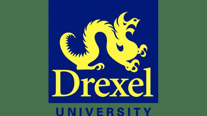 Drexel Dragons Logo 1985-2001