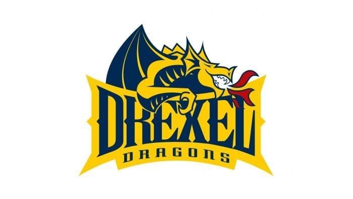 Drexel Dragons Logo 2002-Present