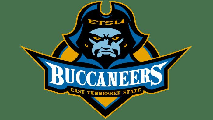 ETSU Buccaneers Logo 2002-2006