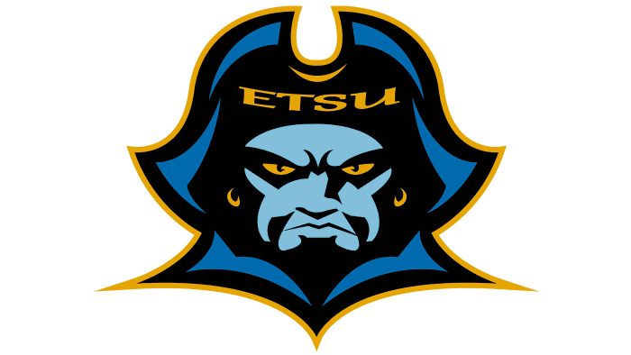 ETSU Buccaneers Logo 2007-2013