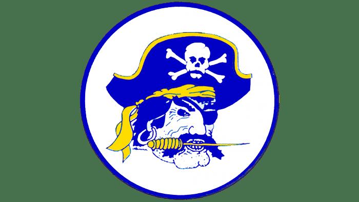 East Carolina Pirates Logo 1988-1998