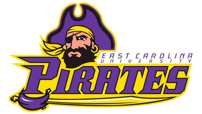 East Carolina Pirates Logo 1999-2003