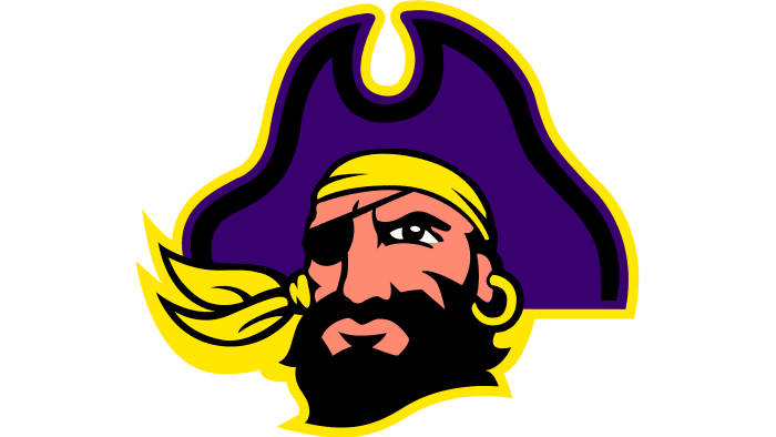 East Carolina Pirates Logo 2004-2013