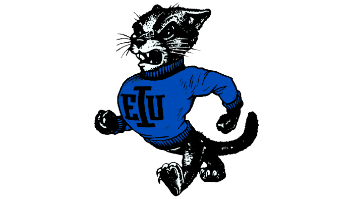 Eastern Illinois Panthers Logo 1988-1999