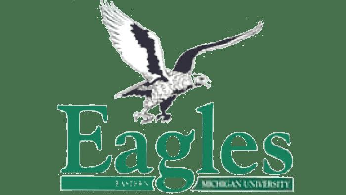 Eastern Michigan Eagles Logo 1991-1994