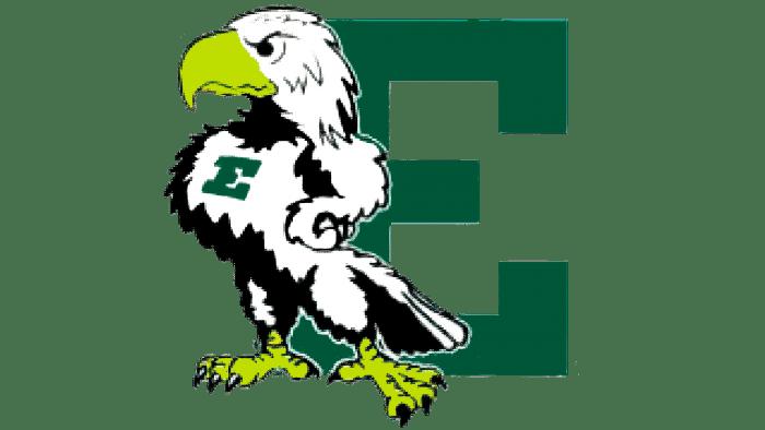 Eastern Michigan Eagles Logo 1995-2001