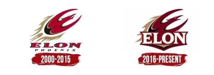 Elon Phoenix Logo History