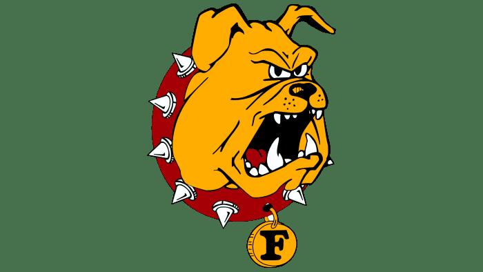 Ferris State Bulldogs Logo 1993-2010