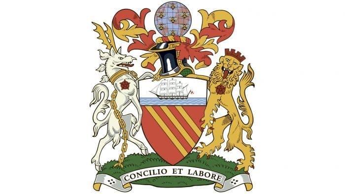 First logo Manchester City 1926