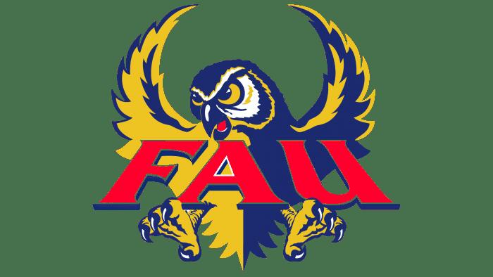 Florida Atlantic Owls Logo 1994-2004