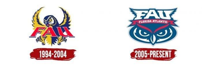 Florida Atlantic Owls Logo History