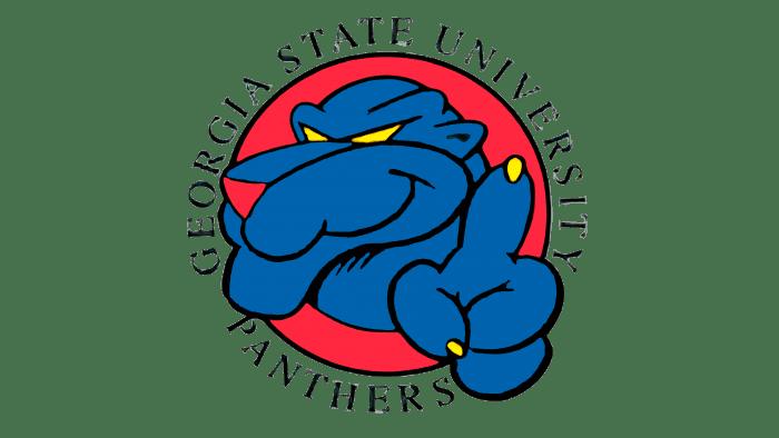 Georgia State Panthers Logo 1993-1996