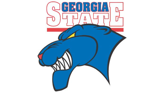 Georgia State Panthers Logo 2002-2008