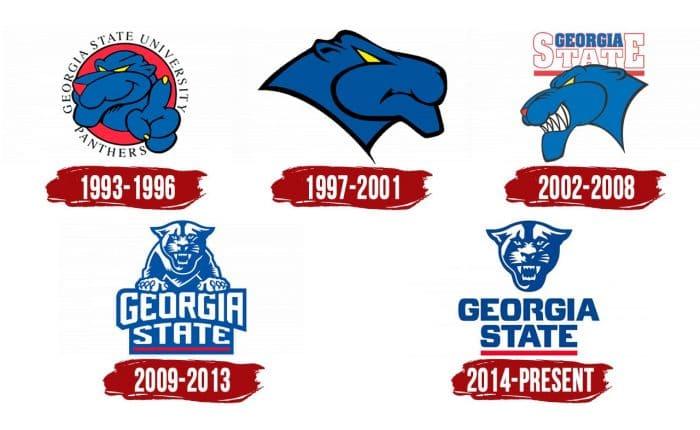 Georgia State Panthers Logo History