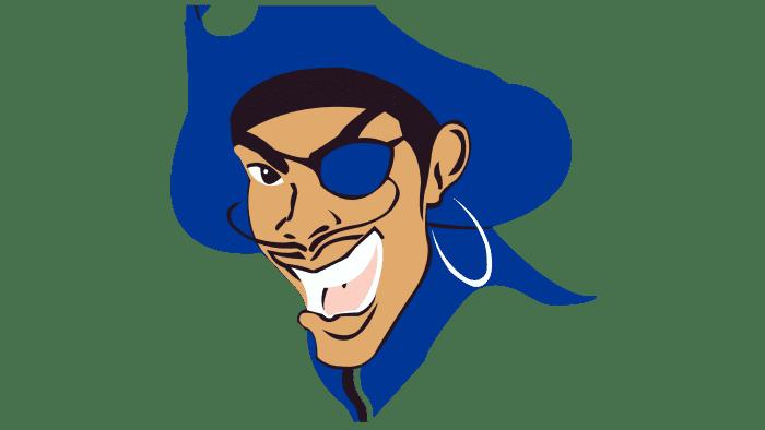 Hampton Pirates Logo 1997-2001
