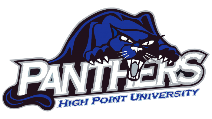 High Point Panthers Logo 2004-2011