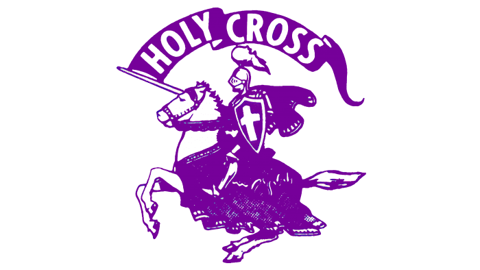 Holy Cross Crusaders Logo 1966-1998