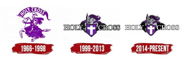 Holy Cross Crusaders Logo History