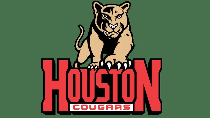 Houston Cougars Logo 1995-2002