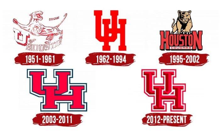 Houston Cougars Logo History