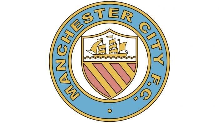 Manchester City Logo 1970-1972