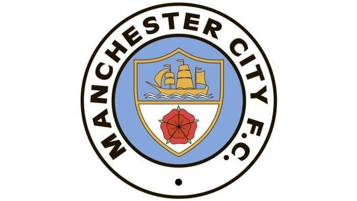 Manchester City Logo 1972-1976