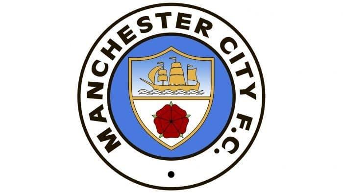 Manchester City Logo 1981-1997