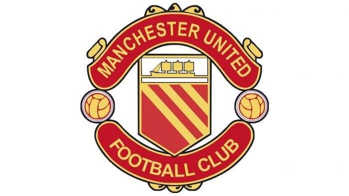 Manchester United Logo 1970-1973