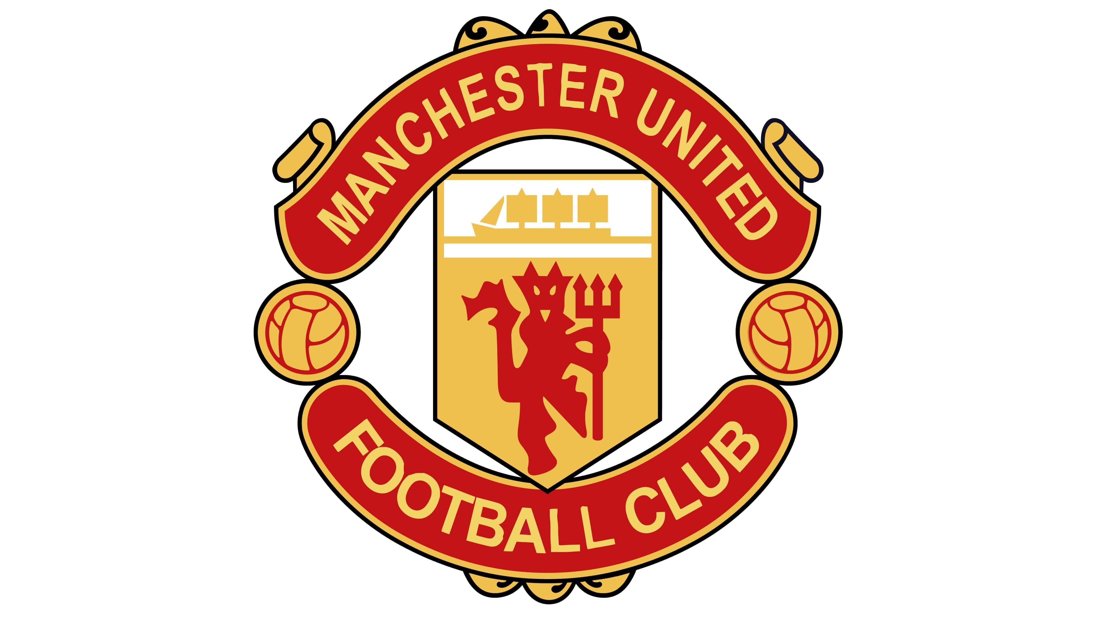 Manchester United Logo Symbol History Png 3840 2160