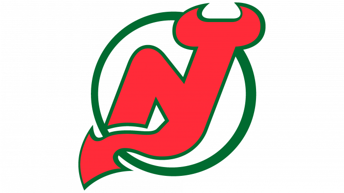 New Jersey Devils Logo 1986-1992