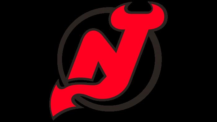 New Jersey Devils Logo 1992-1999