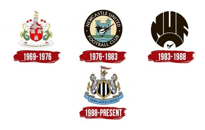 Newcastle Logo History