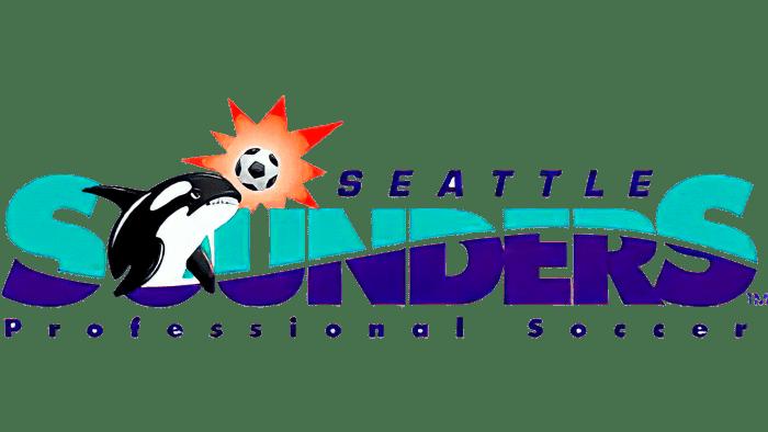 Seattle Sounders FC Logo 1995 2008