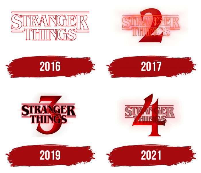 Stranger Things Logo History