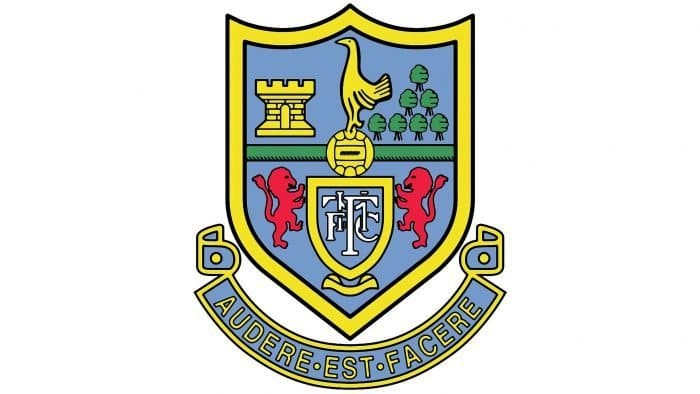 Tottenham Hotspur Logo 1985-1986