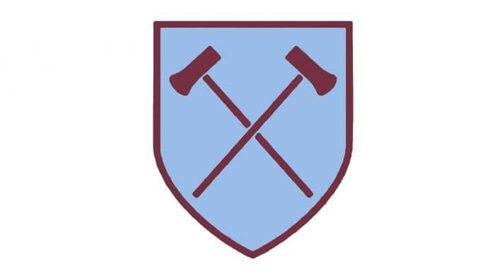 West Ham Logo 1950-1952